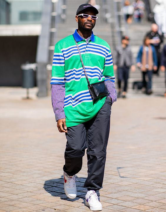 The late-summer period poses a tricky sartorial question: how do you show off your strong style with limited layers at your disposal? Well, we've scoured the latest looks from the SS19 shows to find out how experienced street-stylers have been layering up and peacocking their fashion sense between seasons.