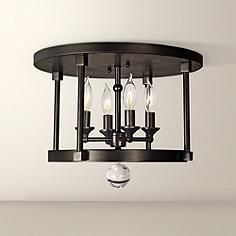 """Compass Collection 15"""" Wide Ceiling Light"""