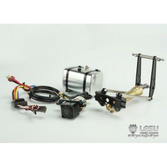 Lesu 1 14 Metal Complete Hydraulic Tipping Mechanism Kit Tamiya Hydraulic Radio Control