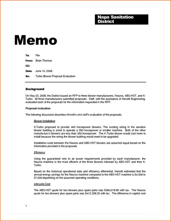 business memo example contract template sample memorandum Home - memo format