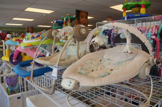 Newborn equipment can be so expensive. Look for a local store that sells gently used kids items to save cash. Shop @Once Upon A Child Reno for quality deals.