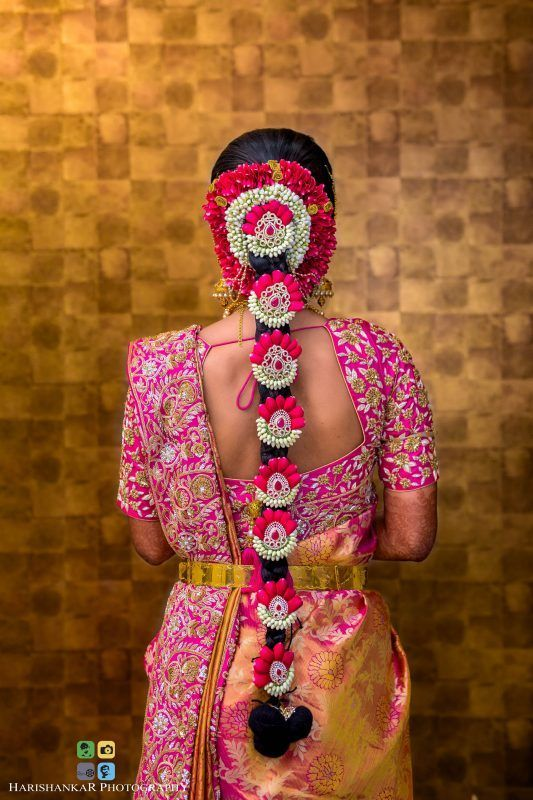 Best South Indian Bridal Hairstyles | WedMeGood