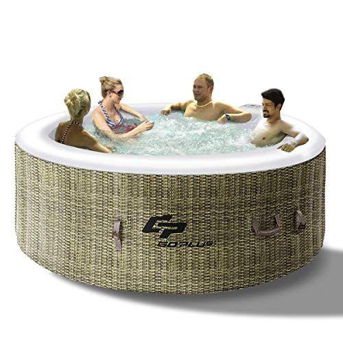 Costway Spa Gonflable Rond 4 Places 800l Avec Pompechauffagegonfleur Filtre 180 X 180 X 65 Cm Modele 1 Home Decor Bassinet Furniture
