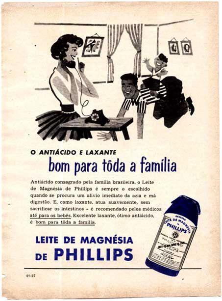 Leite de Magnésia de Phillips.