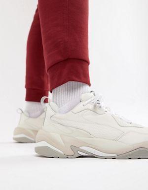 Puma Thunder Desert Trainers In White 36799703 | Puma sneakers
