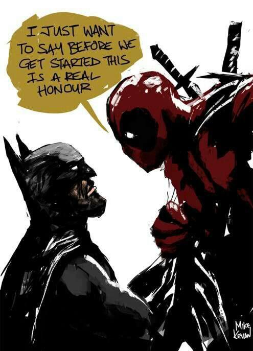 Deadpool vs. Batman