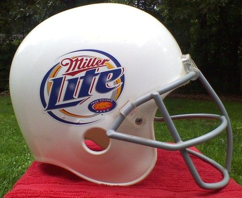 Image result for miller lite football helmet