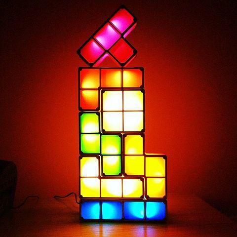 Tetris Stackable Led Desk Lamp Usb Ac Power Led Desk Lamp Lamp Lamp Light