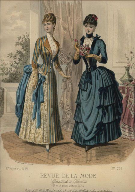 LA REVUE DE LA MODE ... July 11, 1886