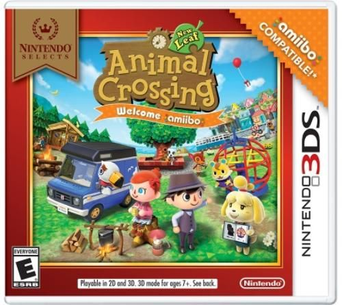Video Games Animal Crossing Nintendo 3ds Animal Crossing Game