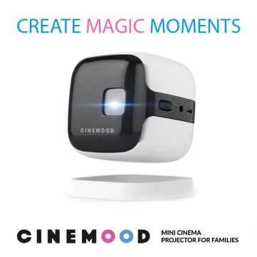 Help make it happen for CINEMOOD v.2: Mini Cinema Projector for Families
