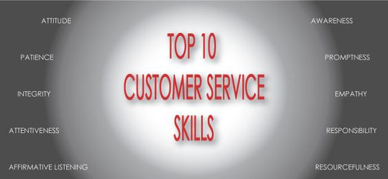 printout  top 10 customer service skills  u2013 keep a copy at