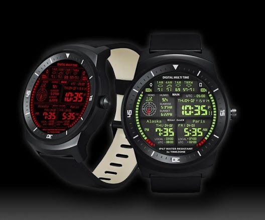 Screenshot With Images Custom Watch Faces World Clock