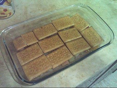 حلوى بثلاث مكونات فقط اقتصادية بدون فرن في خمس دقائق سهلة وسريعة التحضير