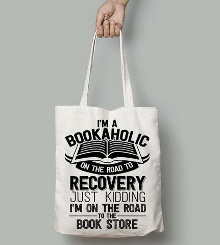 Bookaholic - For reading addicts - Totes - 1:
