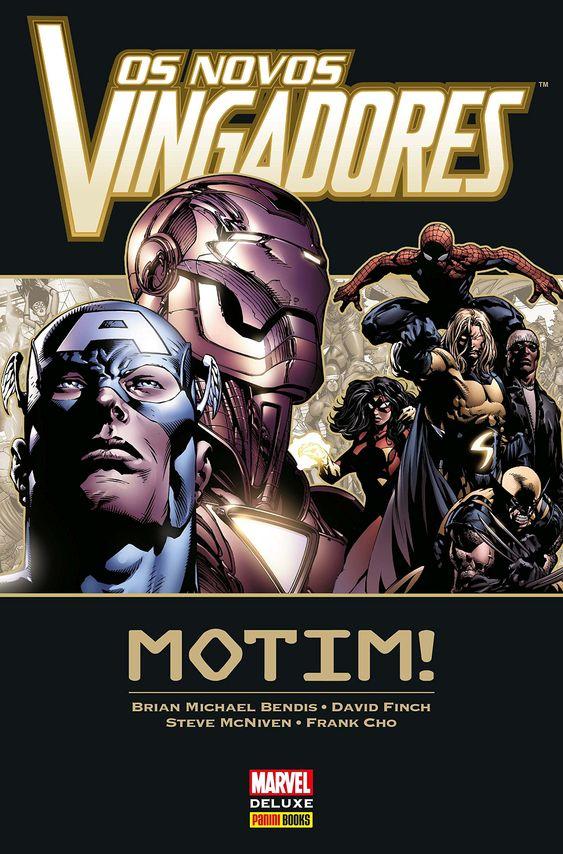 Os Novos Vingadores - Motim - Marvel Deluxe - MonsterBrain