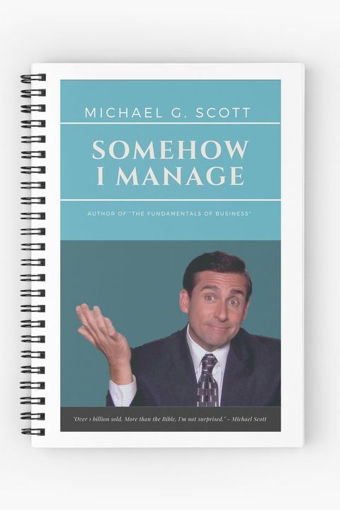 "A book with the title, ""Somehow I manage"""