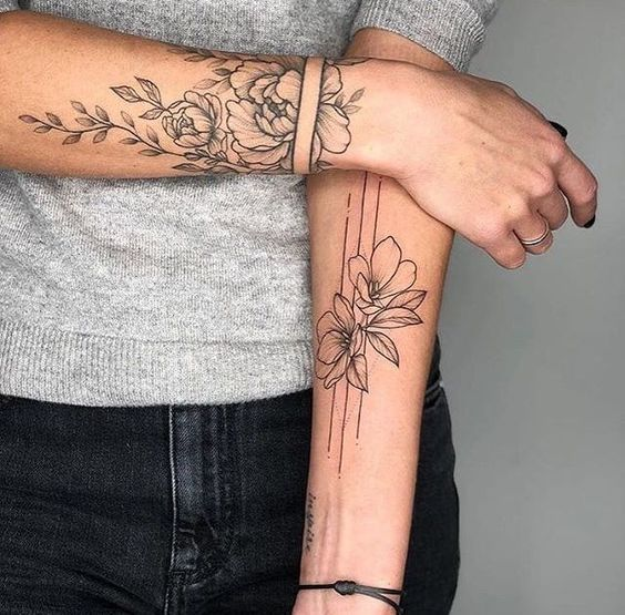 13+ Tatouage manchette poignet femme inspirations