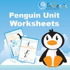 Very large and detailed pdf file of cross curricular worksheets on all 17 species of penguins.  Great Unit.