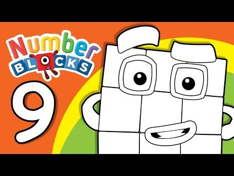 The Educational Cartoon Numberblocks And We Have Its Coloring Pages As Printables Numbers For Kids Coloring For Kids Kid Fun House
