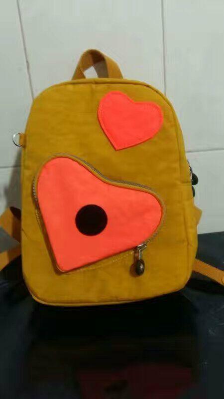 kipling heart backpack(30usd) size:21*30*9cm