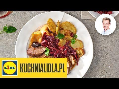 Piers Gesi Duszona Z Jablkami Sliwkami I Zurawina Pawel Z Podhala Przepisy Kuchni Lidla Youtube Food Beef Meat