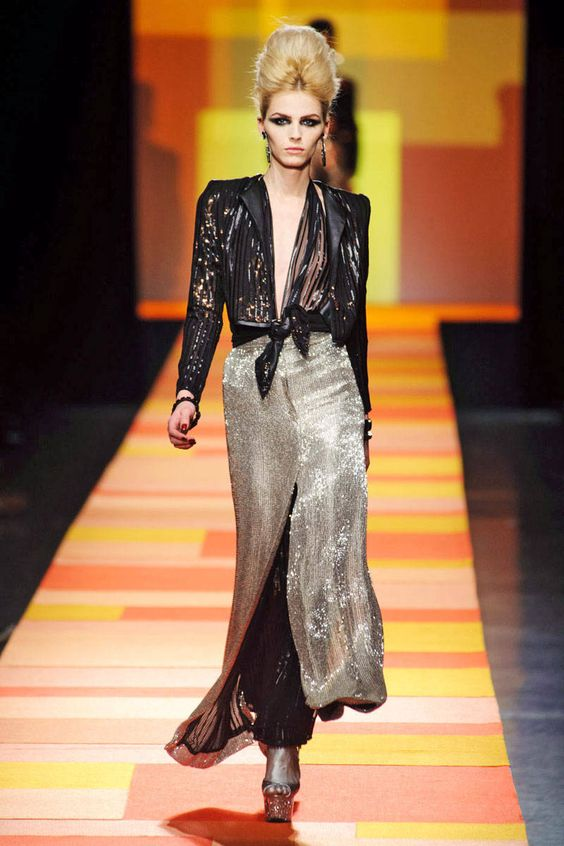 Jean Paul Gaultier Spring 2013 Couture Runway - Jean Paul Gaultier Haute Couture Collection