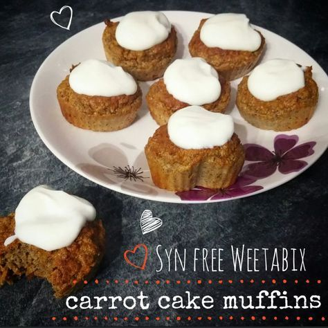 Syn Free Carrot Cake Muffins