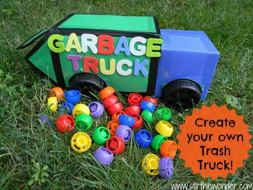Summer Book Exchange Trash Trucks Recycling Trucks And