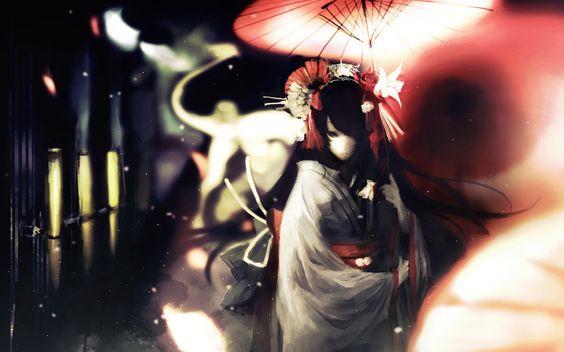 Anime Kimono | Anime: Kimono Girl