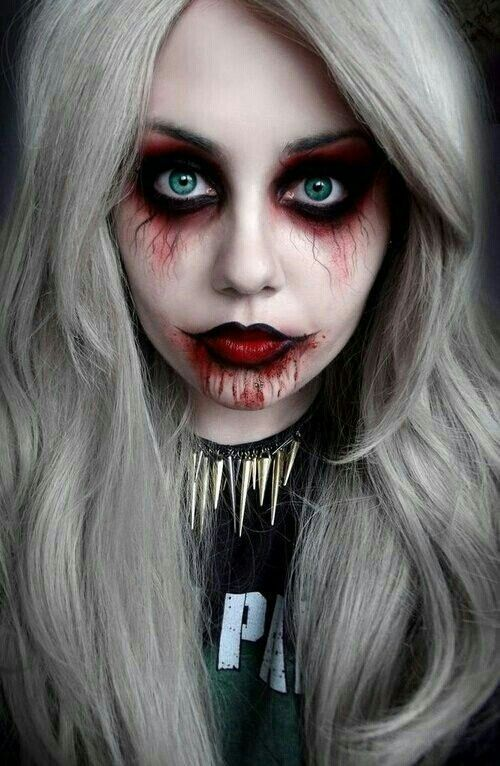 1000+ images about Halloween makeup on Pinterest   Ouija, Doll ...