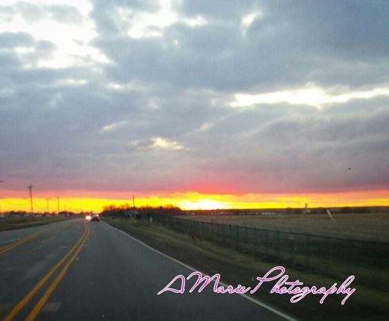 Enjoying the sunset! | AMarie Photography