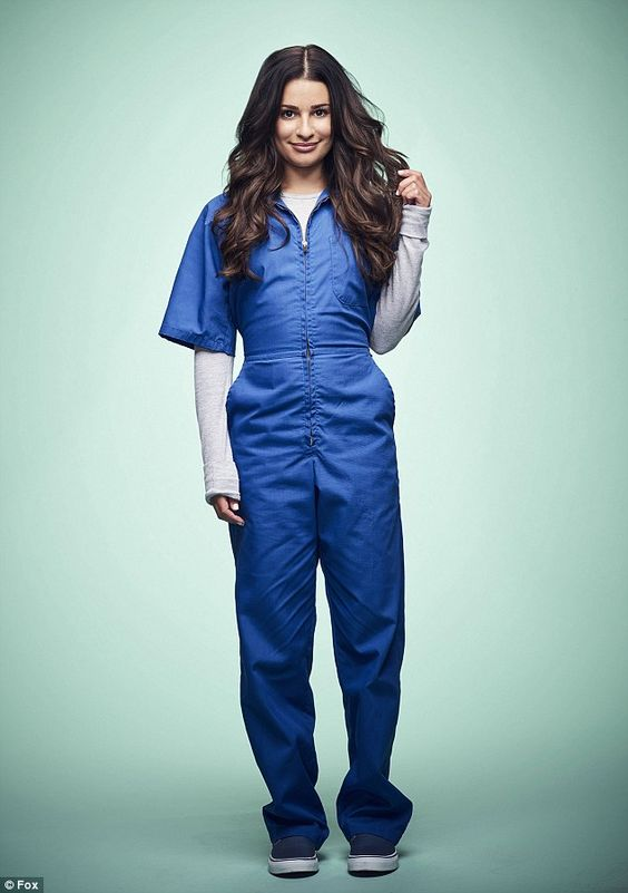 Hannibal Hester? A creepy Lea Michele, dressed in a blue jumpsuit, will play…