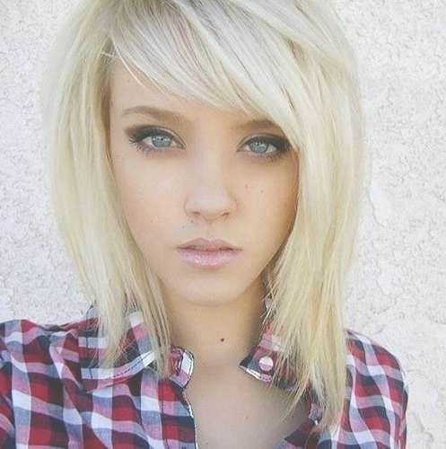 15++ Haircuts with side bangs 2020 inspirations