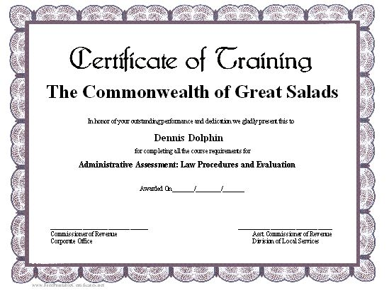 Training certificate image result for scholarship certificate best people need fake training certificates due to many reasons like yelopaper Choice Image
