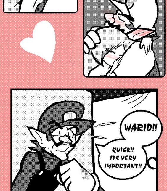 Wario And Mona Thing! Waluigi Is Busted!
