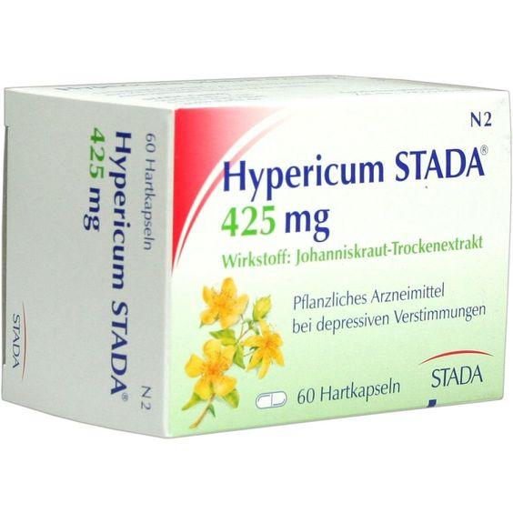 HYPERICUM STADA 425 mg Hartkapseln:   Packungsinhalt: 60 St Hartkapseln PZN: 08918855 Hersteller: STADAvita GmbH Preis: 7,80 EUR inkl. 19…