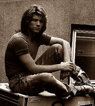 Some photos of Jon Bon Jovi during Cross Road, 1994