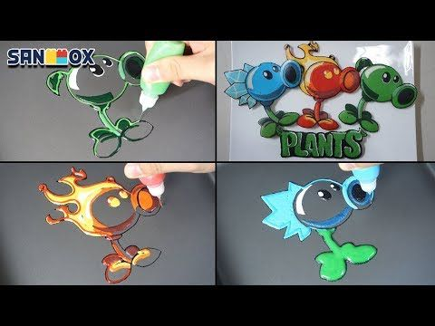 Plants Vs Zombies Pancake Art Peashooter Ice Peashooter Fire Peashooter Youtube Pancake Art Plants Vs Zombies Art