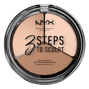 3 Steps to Sculpt Face Sculpting Palette | NYX Professional Makeup