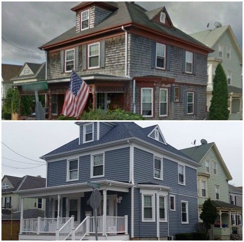 Mastic Vinyl Siding, GAF Timberline HD Roofing System In New Bedford, MA |  Care Free Homes, Inc. #roofing #vinylsiding | Pinterest | Vinyl Siding, ...
