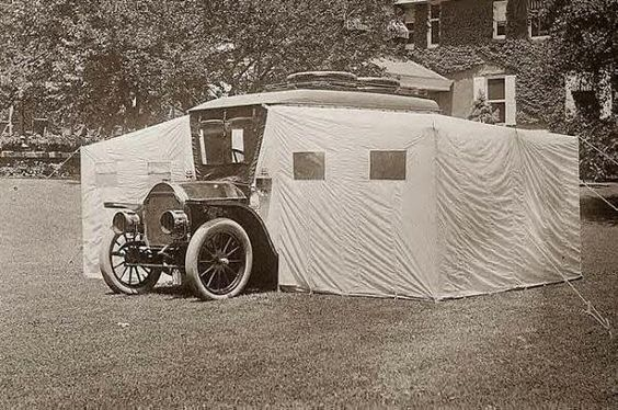 Dupont Car Camp                                                Recreational Vehicle,                                                1910s: