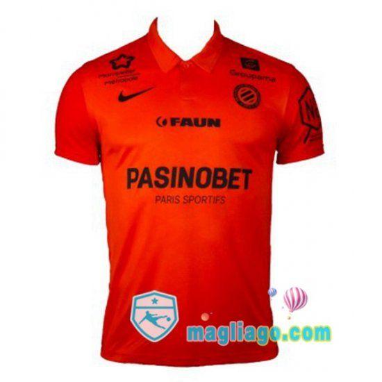 Maglia Montpellier HSC Uomo Seconda 2020/2021   Montpellier ...