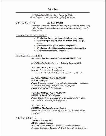 Resume Objective Dental Hygienist - http\/\/wwwresumecareerinfo - biology resume objective