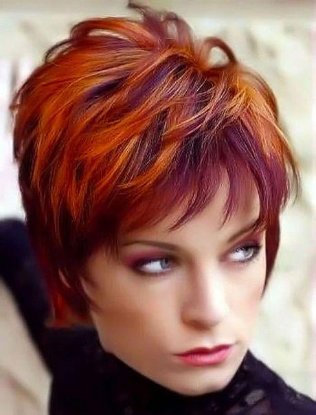 Herbst Winter Frisuren 2018 Haarfarben Frisur Rot Frisuren Kurze Haare Rot