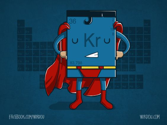 Krypton Element Solid