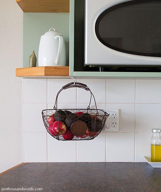 Hanging Sphere Wire Basket Küchen zubehör, Küche und Neue häuser - drahtkörbe für küchenschränke