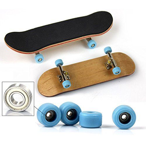 Mini Skateboard Exquisite Finger Board Toy Frosted Park Boy Kid Children Gift