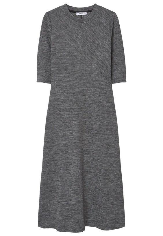 Mango RIN Maxikleid medium heather grey Bekleidung bei Zalando.de | Material Oberstoff: 99% Polyester, 1% Elasthan | Bekleidung jetzt versandkostenfrei bei Zalando.de bestellen!
