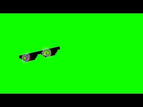 Thug Life Glasses Green Screen Effect No Copyright Chroma Key Youtube Chroma Key Greenscreen Thug Life